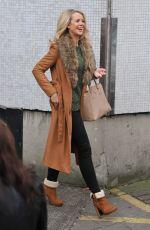 PORTIA ODUBA Leaves ITV Studios in London 12/23/2016