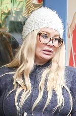 Pregnant JENNA JAMESON Out Shoping in Los Angeles 12/21/2016