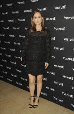 Pregnant NATALIE PORTMAN at Vulture Awards Season Party in Los Angeles 12/08/2016