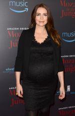 Pregnant SAFFRON BURROWS at