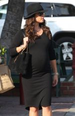 Pregnant VANESSA LACHEY Out in Beverly Hills 12/07/2016