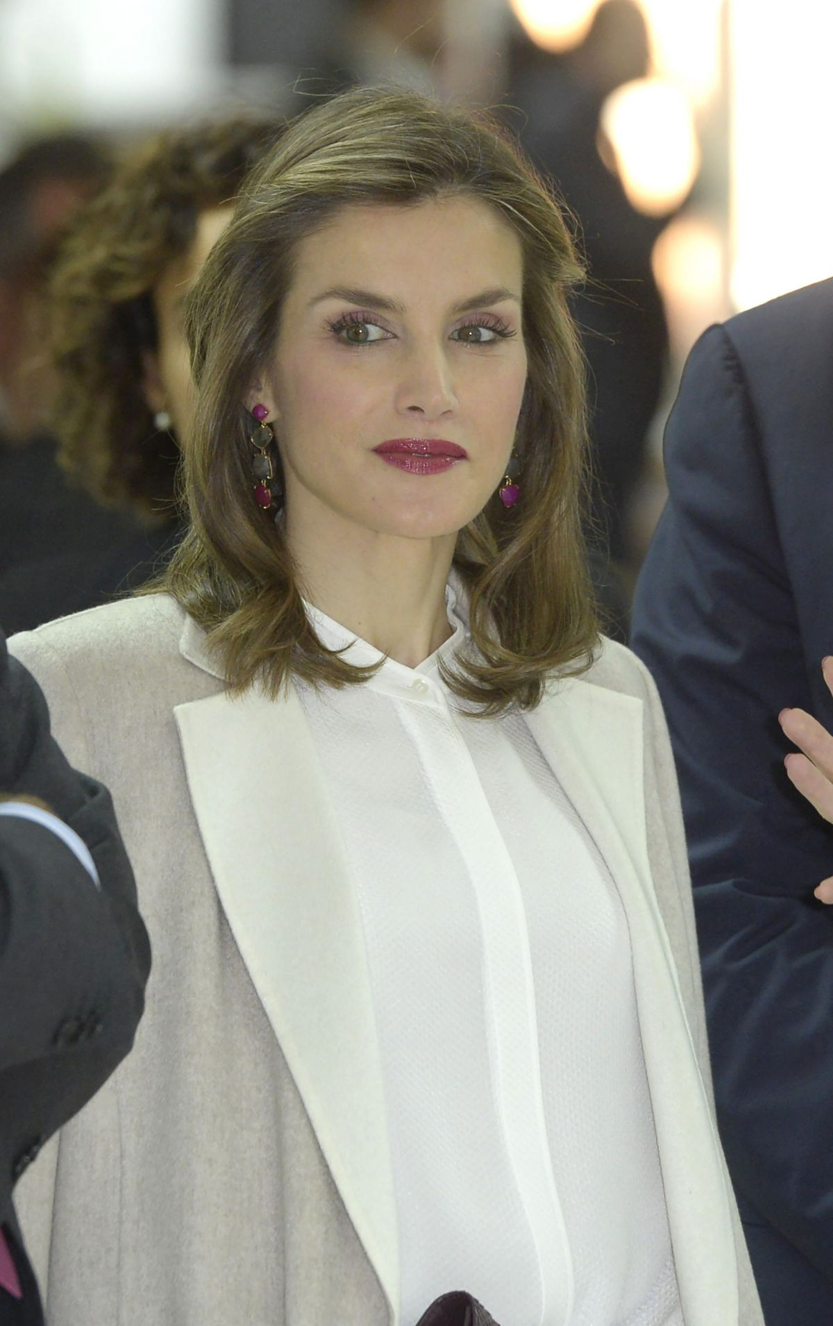 QUEEN LETIZIA OF SPAIN at 40th Anniversary of Grupo Editorial Zet in Madrid 12/12/2016