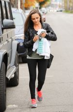 RACHAEL LEIGH COOK Out and About in Los Angeles 12/21/2016
