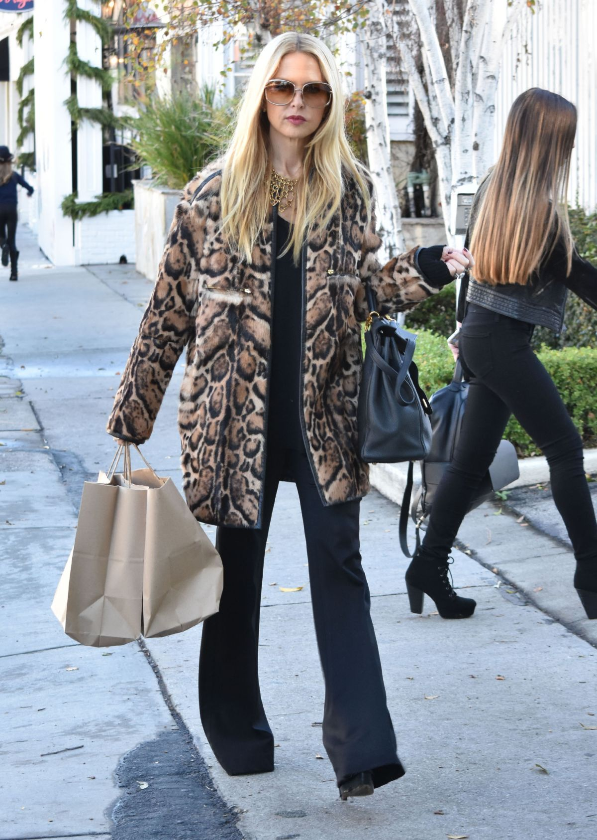 RACHEL ZOE Out Shopping in West Hollywood 12/22/2016