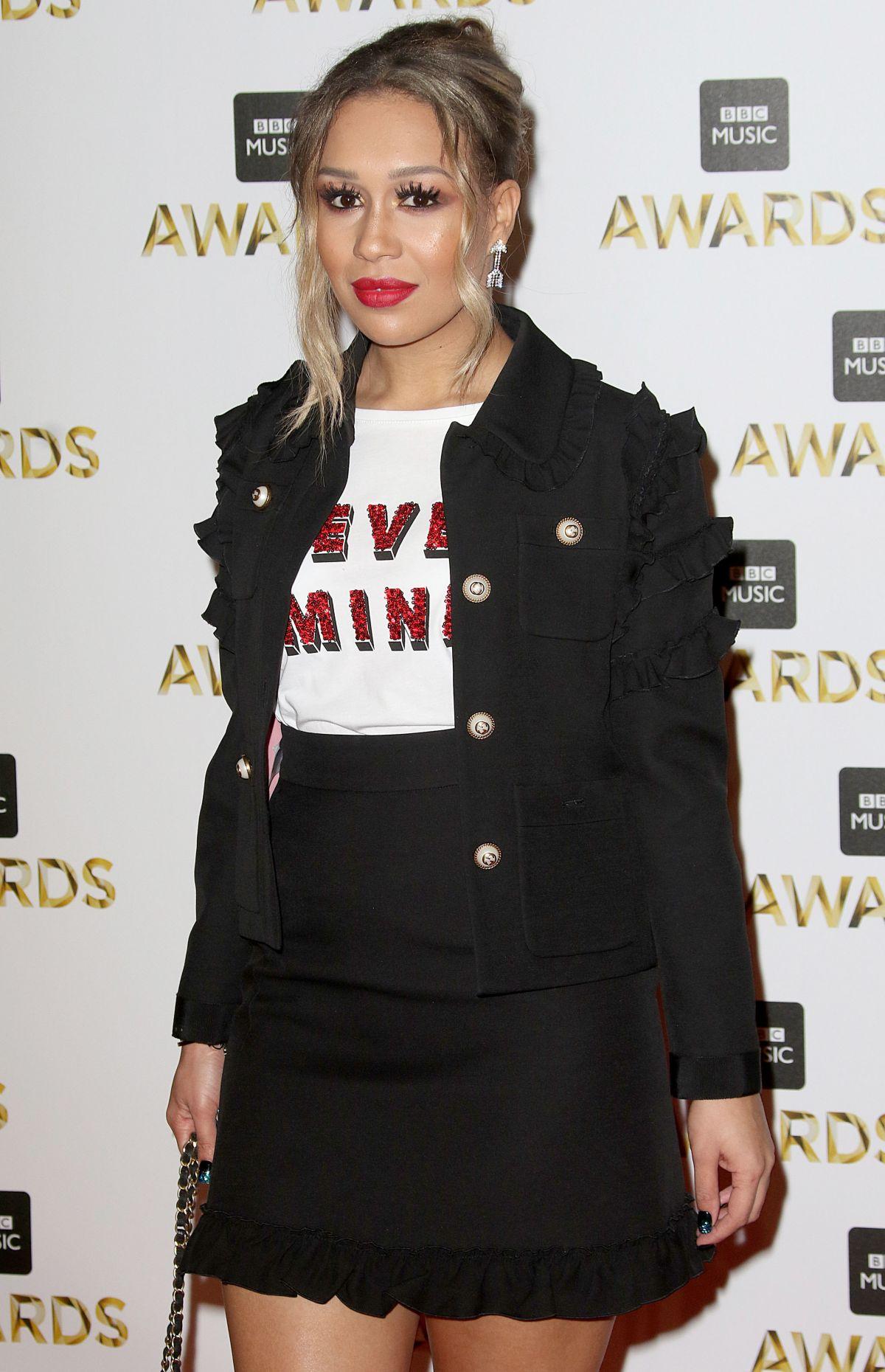 REBECCA FERGUSON at BBC Music Awards in London 12/12/2016