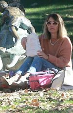 REBECCA GAYHEART at Coldwater Canyon Park in Beverly Hills 12/20/2016