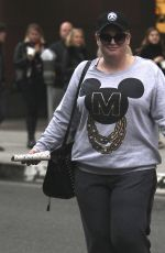 REBEL WILSON Out and About in Beverly Hills 12/06/2016