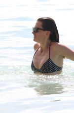 RHEA DURHAM in Bikini at a Beach in Barbados 12/29/2016
