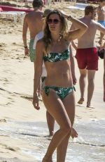 RHEA DURHAM in Bikini on the Beach in Bridgetown 12/30/2016