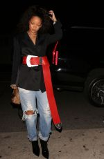 RIHANNA Leaves Giorgio Baldi in Santa Monica 12/20/2016
