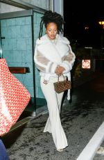 RIHANNA Out in New York 12/06/2016