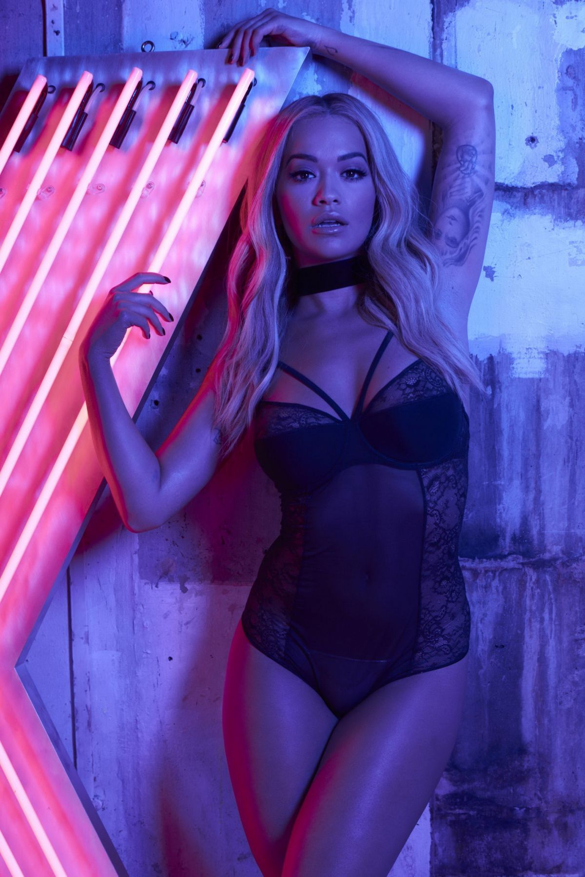 RITA ORA for Tezenis, December 2016