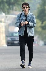 ROONEY MARA Out and About in Los Feliz 12/13/2016