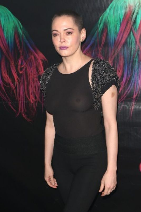 ROSE MCGOWAN at Charliewood Exhibition Opening 11/28/2016
