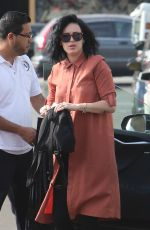 RUMER WILLIS Arrives at Nine Zero One Salon in West Hollywood 12/06/2016