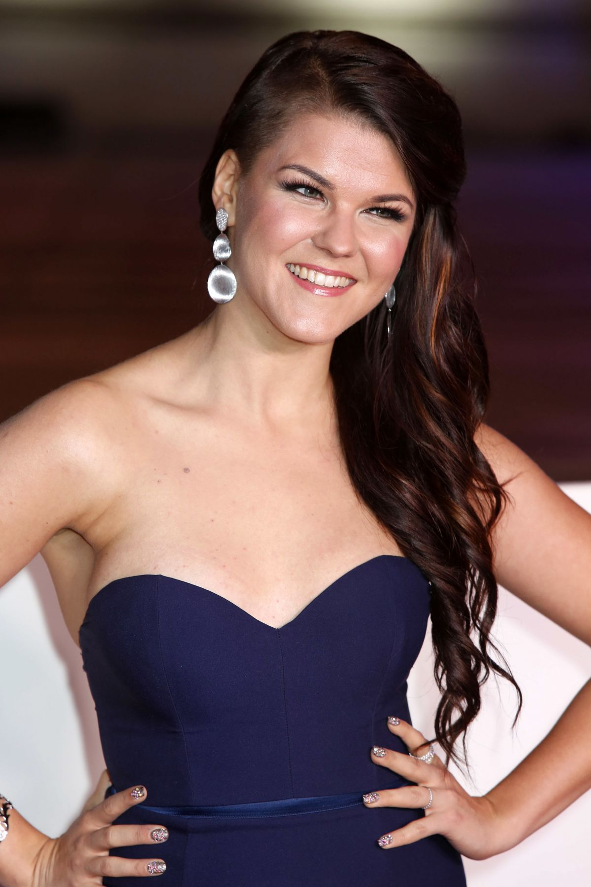 SAARA AALTO at The Sun Military Awards in London 12/14/2016
