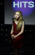 SABRINA CARPENTER Performs at 97.3 Radion Station in Fort Lauderdale 12/19/2016