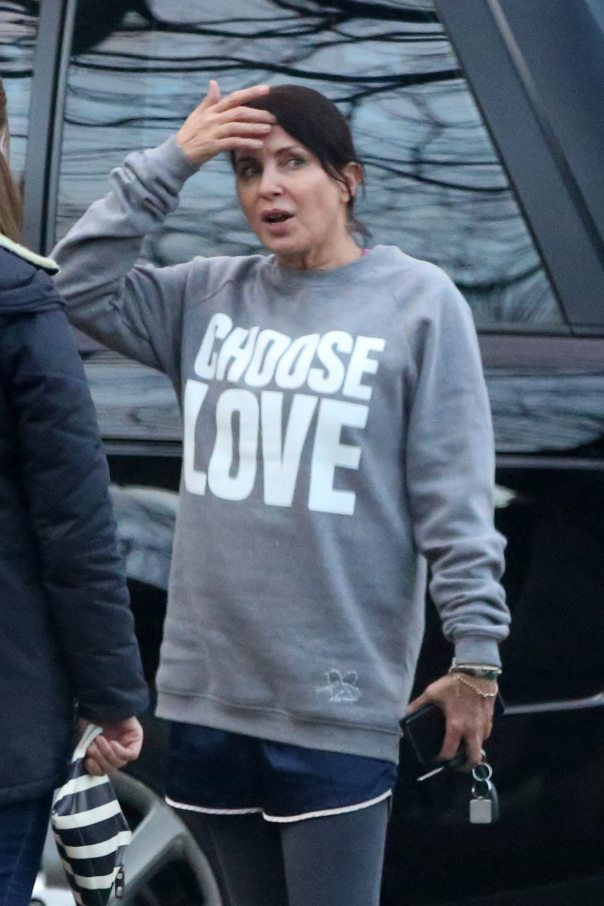 SADIE FROST Out and About in London 12/24/2016