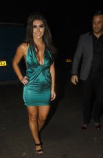 SADIE STUART Night Out in Sidcup 12/17/2016