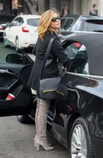 SARAH HYLAND at a Salon in Beverly Hills 12/23/2016