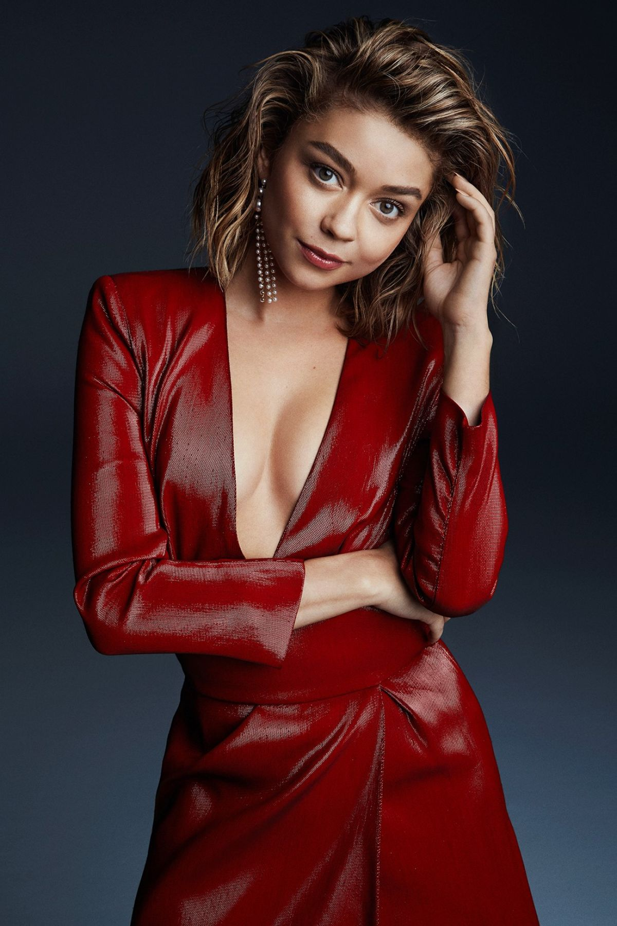 SARAH HYLAND for Marie Claire ID, 2016