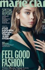 SARAH HYLAND in Marie Claire Magazin, Indonesia November 2016 Issue