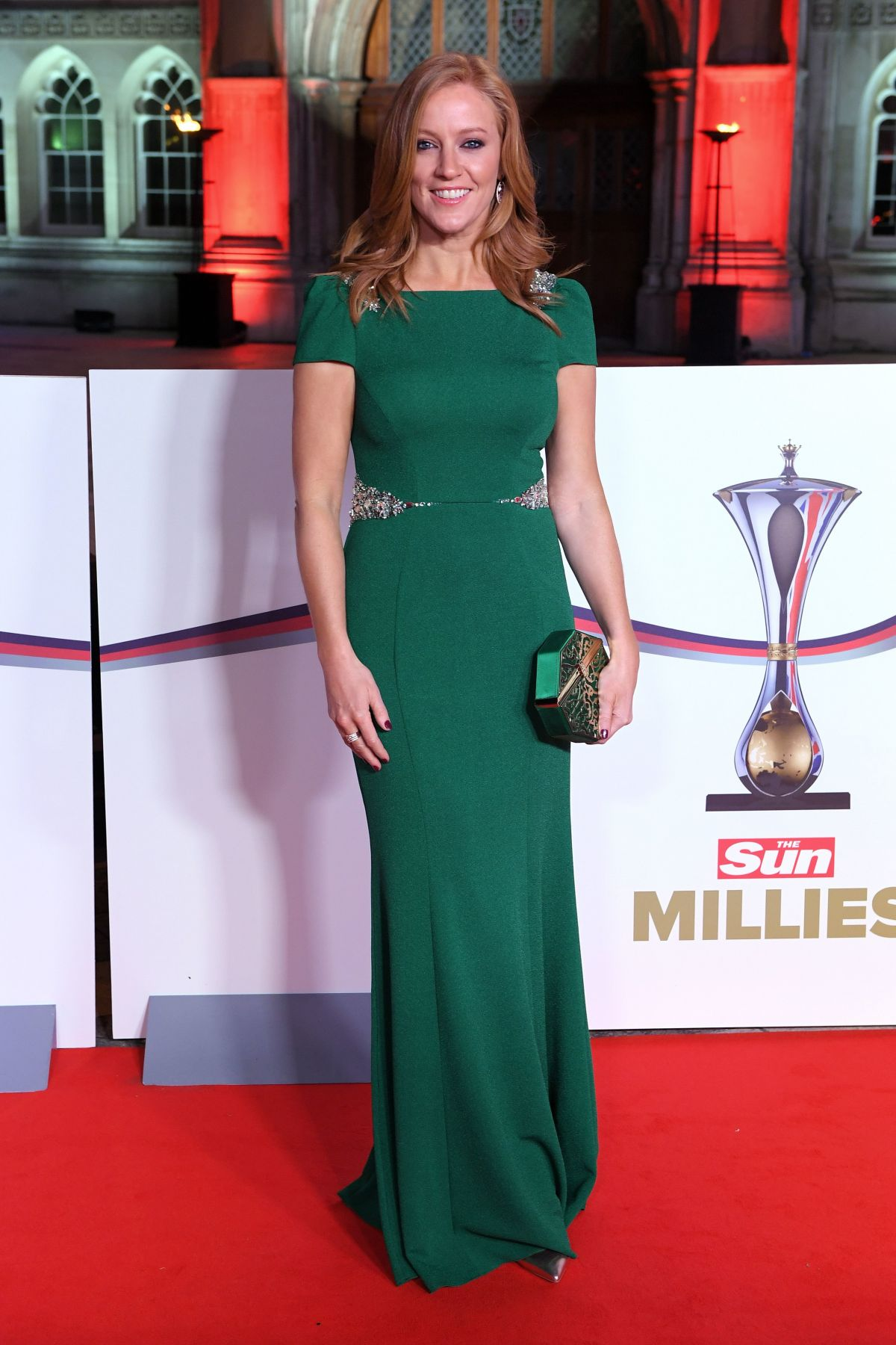 SARAH-JANE MEE at The Sun Military Awards in London 12/14/2016