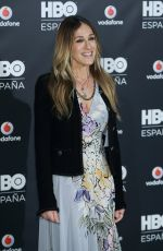 SARAH JESSICA PARKER at HBO Spain Photocall at Urso Hotel in Madrid 12/15/2016