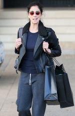 SARAH SILVERMAN Out for Shopping in Beverly Hills 12/07/2016