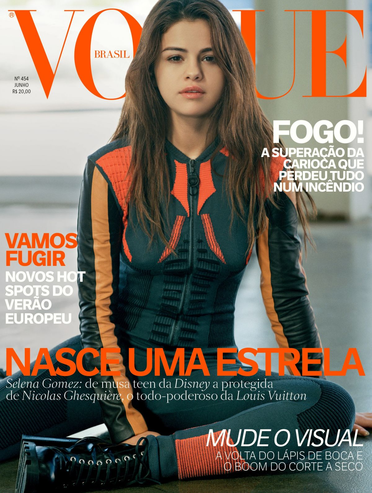 SELENA GOMEZ for Vogue Magazine, Brasil 2016