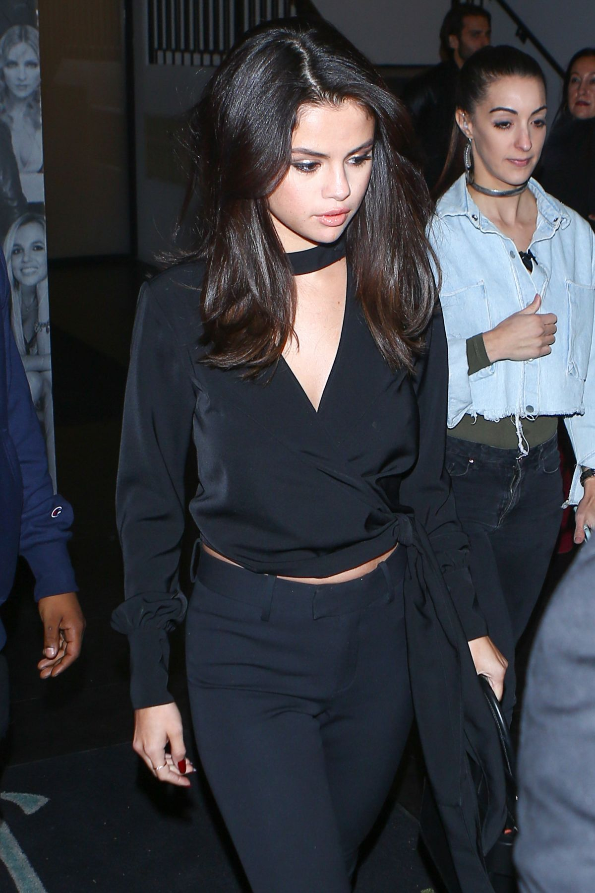 SELENA GOMEZ Leaves Catch LA in West Hollywood 12/03/2016