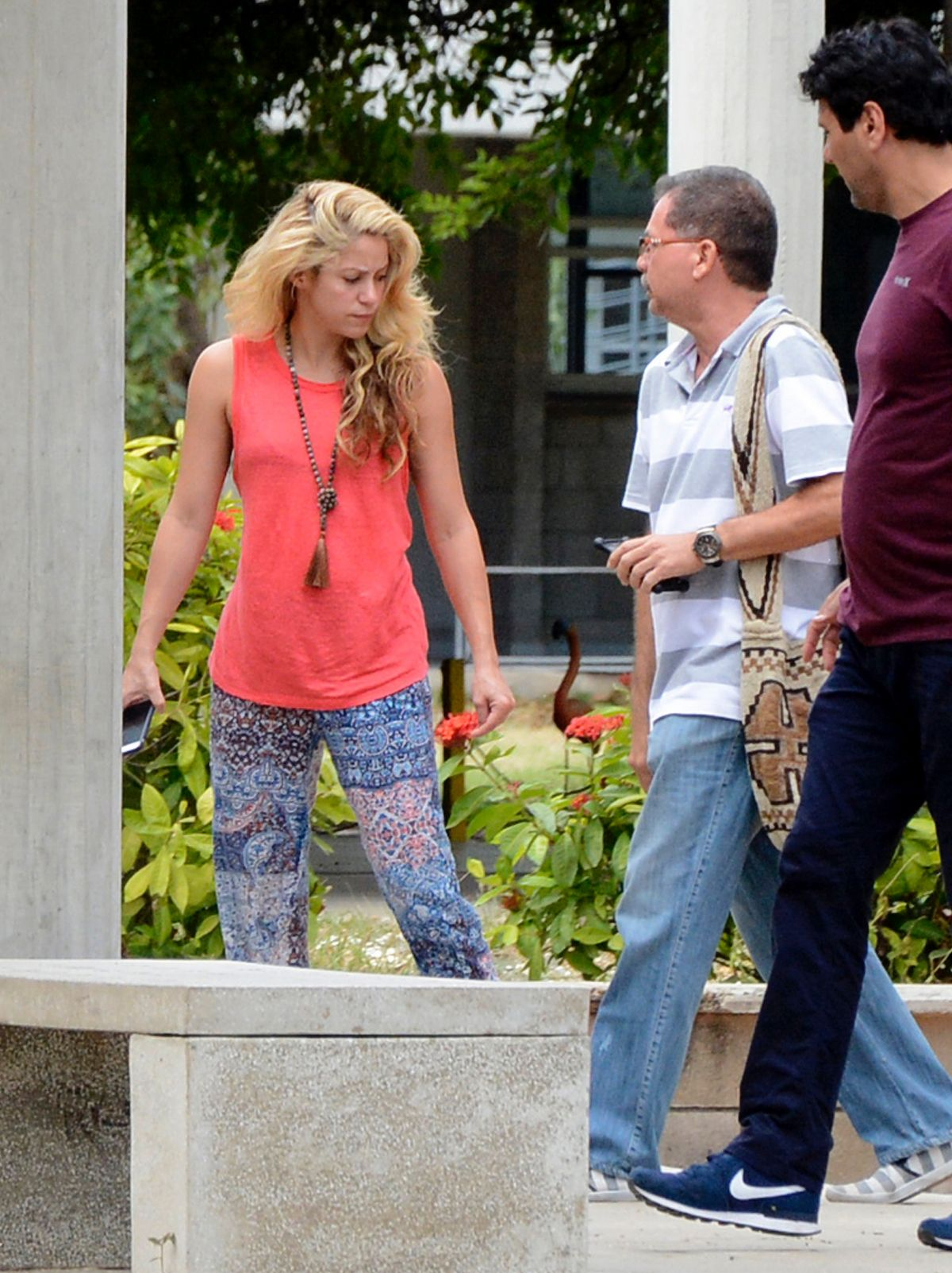 SHAKIRA Arrives at Pies Descalzos College in Barranquilla 12/28/2016