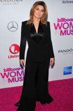 SHANIA TWAIN at Billboard Women in Music 2016 in New York 12/09/2016