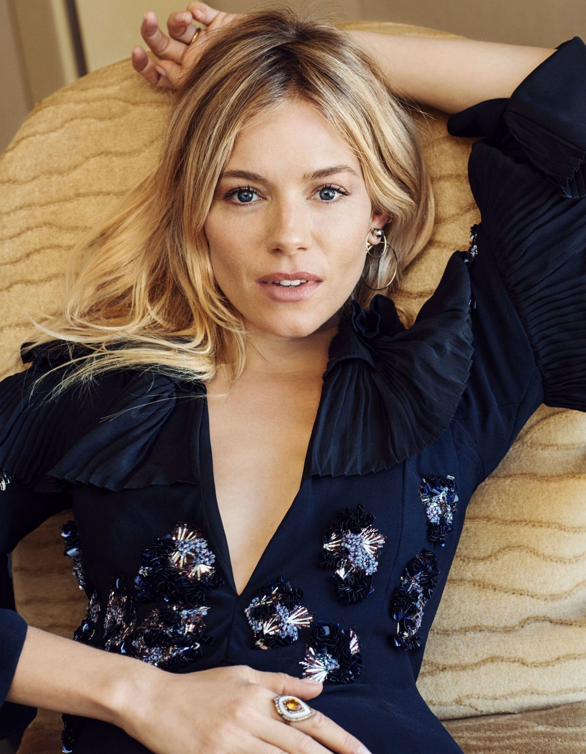 SIENNA MILLER for Telegraph Magazine, December 2016