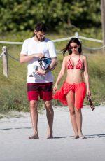 SILA SAHIN in Bikini at a Beach in Miami 12/27/2016