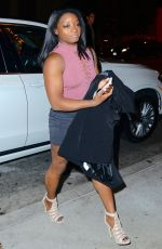 SIMONE BILES Arrives at Catch LA in West Hollywood 12/06/2016