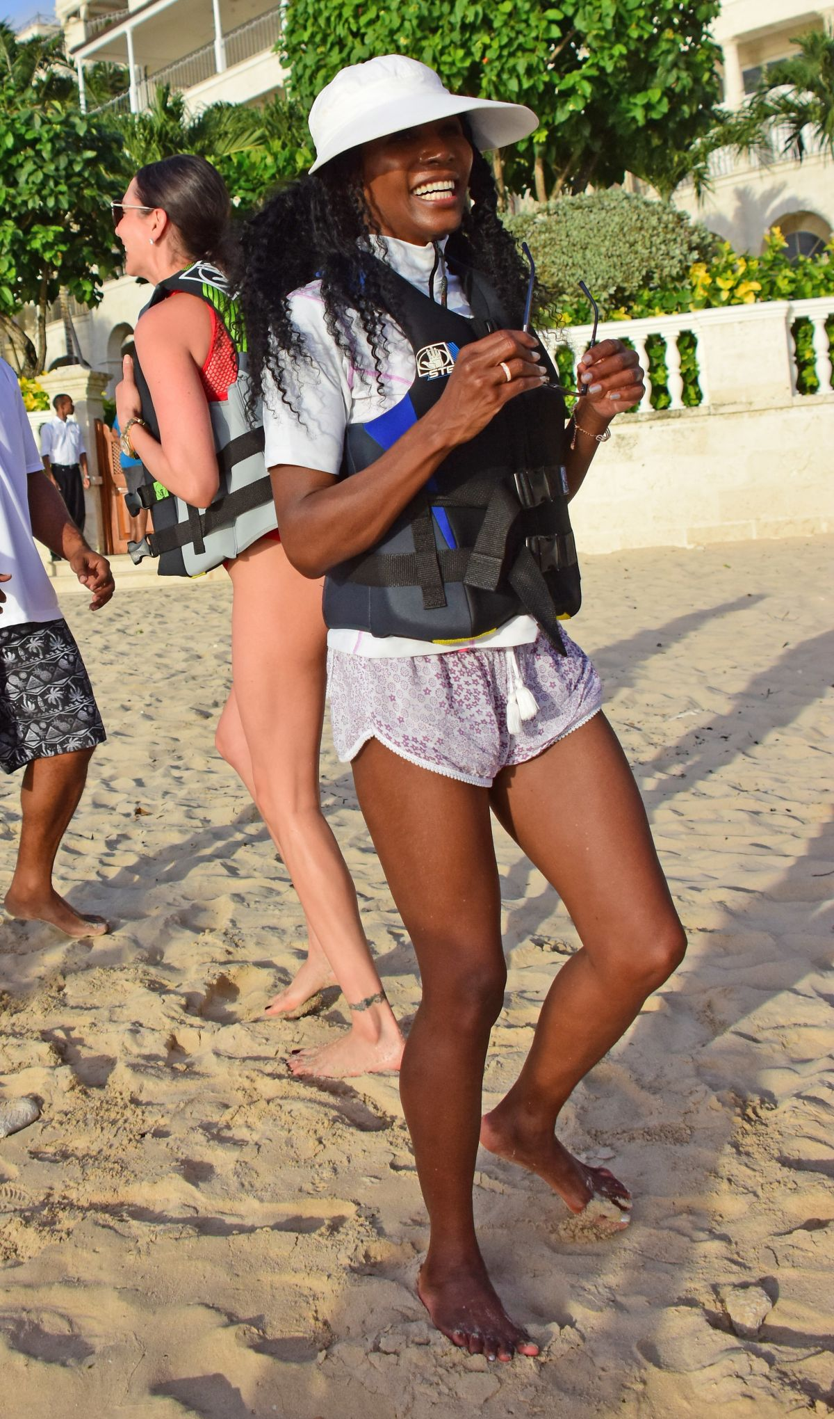 SINITTA Out and About in Barbados 12/16/2016