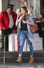 SOFIA VERGARA Out Shopping in Beverly Hills 12/06/2016