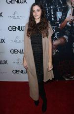 SONJA KINSKI at Genlux Holiday Issue Magazine Party 12/16/2016