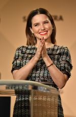 SOPHIA BUSH at 23rd Annual Screen Actors Guild Nomination Announcement in Los Angeles 12/14/2016