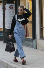 SOPHIA RICHIE Out for Shopping in Beverly Hills 12/14/2016