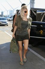 STACY FERGIE FERGUSON at LAX Airport in Los Angeles 12/29/2016