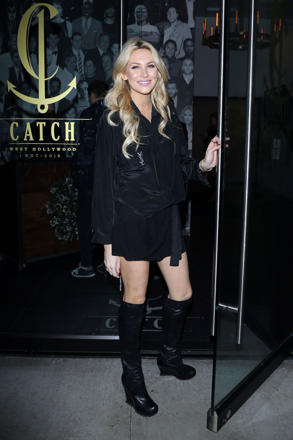 STEPHANIE PRATT at Catch LA in West Hollywood 12/18/2016