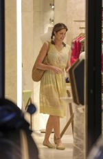 STEPHANIE SEYMOUR Out for Shopping in St. Barth 12/21/2016