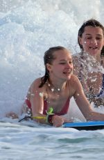 SUKI, IMMY and MADDI WATERHOUSE in Bikinis at a Beach in Barbados 12/26/2016