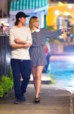 SUKI WATERHOUSE Out with Her Brother in Holetown 12/28/2016