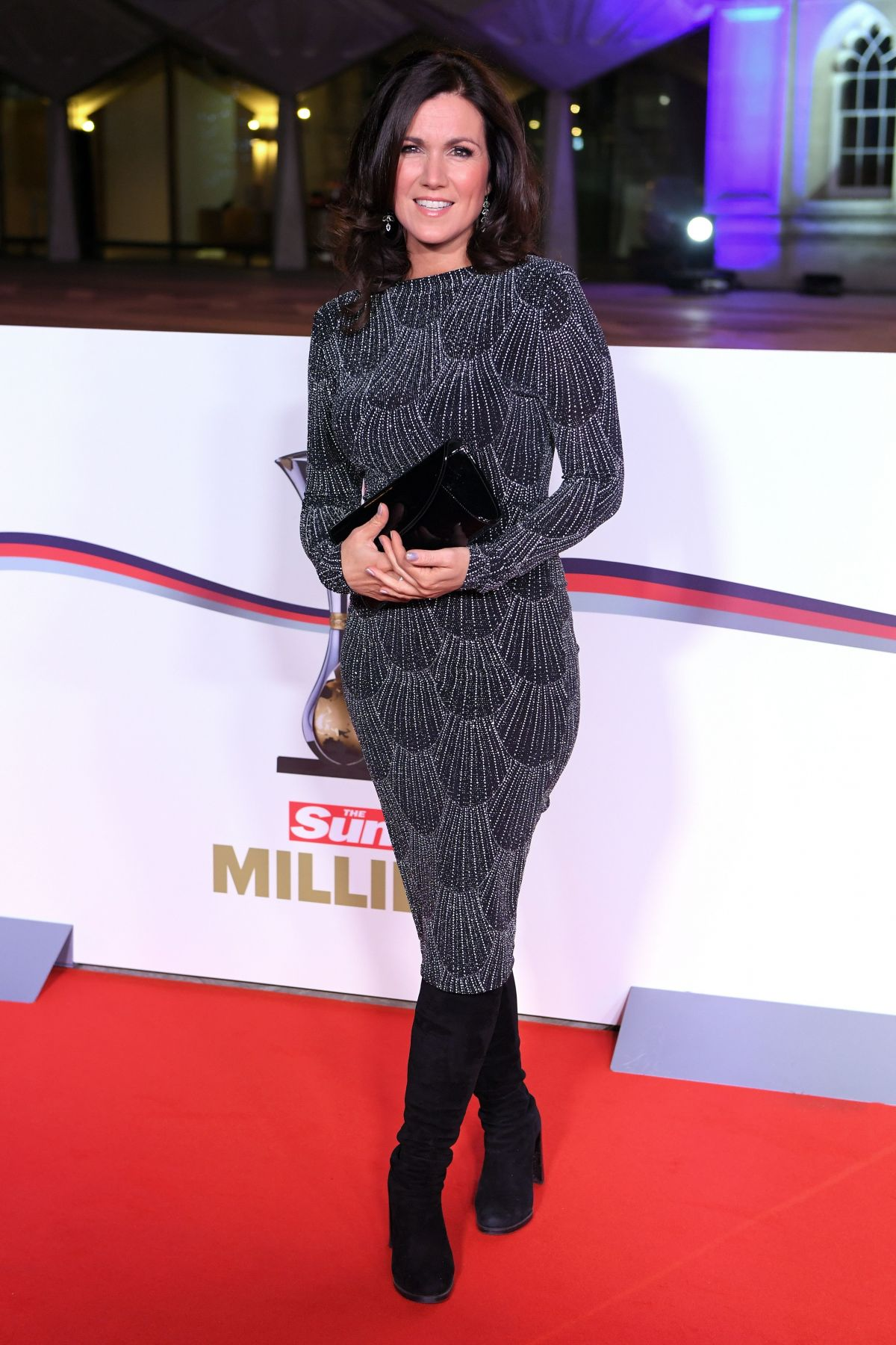 SUSANNA REID at The Sun Military Awards in London 12/14/2016