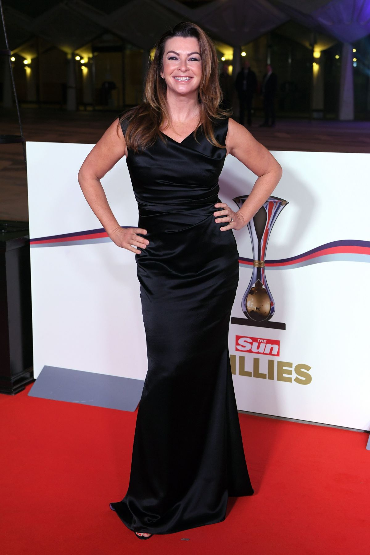 SUZI PERRY at The Sun Military Awards in London 12/14/2016