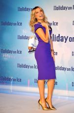 SYLVIE MEIS at Holiday on Ice in Berlin 12/01/2016