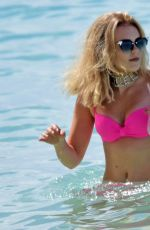 TALLIA STORM in Bikini on the Beach in Barbados 12/24/2016